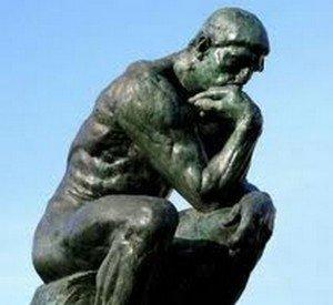 Philippe Parrot : Citation : Des pensées plus, dépensez moins ! Par thème G à L penseur-rodin-300x275