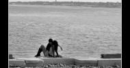 Philippe Parrot : Poème contemporain 45 : Couple en bord de mer