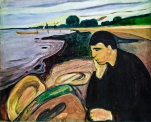 Munch-mélancolie 1891