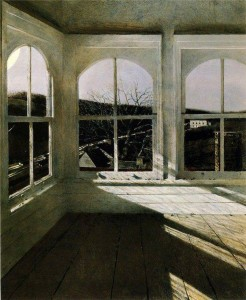 Fenêtres - Tableau d'Andrew Wyeth