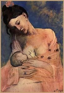 La Maternite de Picasso