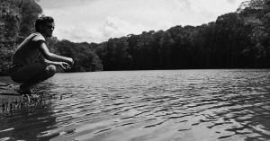 L'homme et la rivière