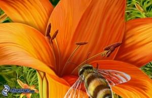 P 195 - L'abeille
