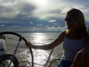 213 - La mer et la jeune femme