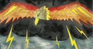 Philippe Parrot : Poème contemporain 217 : L'aigle cerf-volant