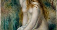 Philippe Parrot : Poème contemporain 285 : Jeune fille au bain