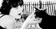 Philippe Parrot : Poème contemporain 322 : La Dame-au-chat