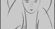 Philippe Parrot : Poème contemporain 345 : La femme au fusain