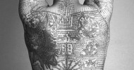 Philippe Parrot : Poème contemporain 390 : L'homme au tatouage