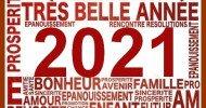 Bonne année 2021 à vous !