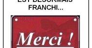 Philippe Parrot : 1 300 000 lecteurs ! Le seuil est franchi. Merci !
