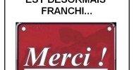 Philippe Parrot : 1 400 000 lecteurs ! Le seuil est franchi. Merci !