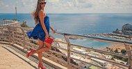 Philippe Parrot : Poème contemporain 461 : Femme de bleu vêtue